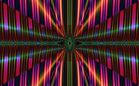 Fractal Colors - colors, stripes, abstract, fractal