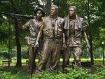 The Three Soldiers Vietnam Veterans Memorial