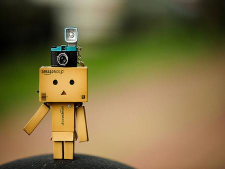 Danbo - danbo, robot, cute