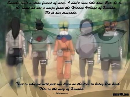 Way of the Ninja - Naruto & Anime Background Wallpapers on ...