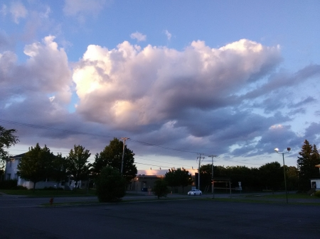 Clouds over Albion - Beautiful, Afternoon, Clouds, Skies