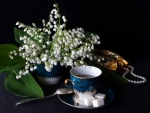Coffee And Lily Of Valley