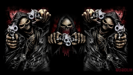 Shooting Death Fantasy Abstract Background Wallpapers On