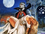 Count Dracula and his bride
