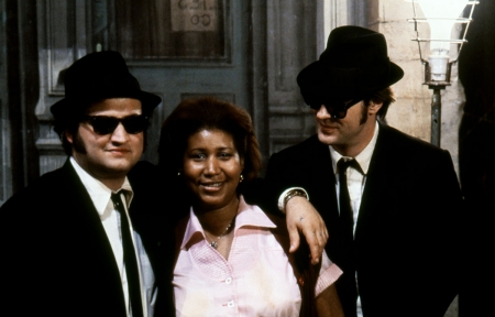 The Blues Brothers With Aretha