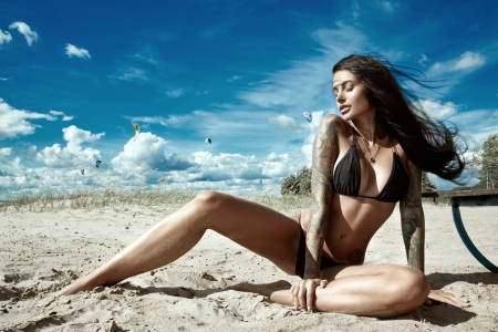 People ~ Anya Sakharova Models Bikini Background Model Femaleamp; f67yIYbvmg