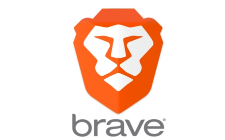 Brave browser - Brave, white, browser, lion