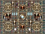 Steampunk pipe background-3