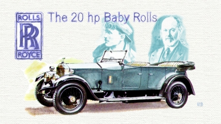 1926 Rolls Royce Baby Rolls art - Rolls Royce wallpaper, Rolls Royce Desktop background, Rolls Royce, Rolls Royce Automobile, Rolls Royce cars