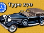 1938 Mercedes Type 270 ad art