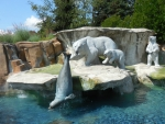 Polar Bear & Seal Fountain