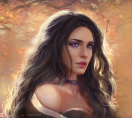Yennefer Fantasy Abstract Background Wallpapers On Desktop Nexus Image 2413930