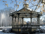 Gazebo in Winter Park
