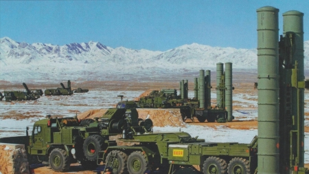 Chinese S-300PMU Missile System - Military, Truck, Missile, System, Chinese, S-300PMU