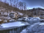 Winter Scenery at Hyde's Mill