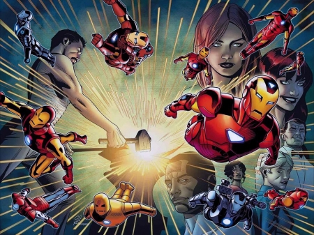 Iron Man - Iron Man, Comics, Superheroes, Marvel