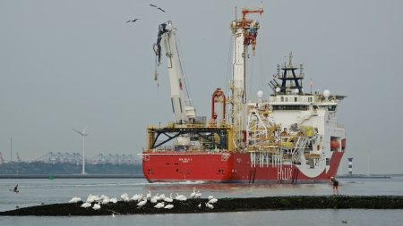 Siem Helix 2 Offshore Support Vessel - Boat, Ship, Vessel, Offshore, Support, Siem Helix 2