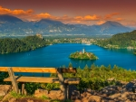 View of lake Bled - Slovenia