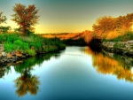 Lovely River Reflections