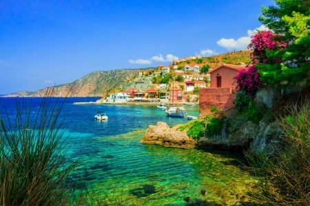 Cephalonia Greece Other Nature Background Wallpapers On