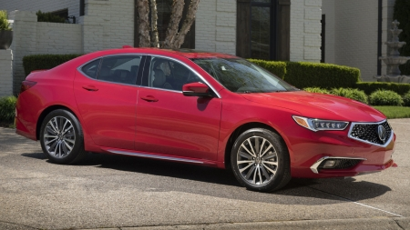 2018 Acura TLX - TLX, Red, Car, Luxury, Acura