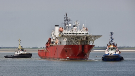 Seven Discovery Offshore Support Vessel - Seven Discovery, Boat, Ship, Vessel, Offshore, Support