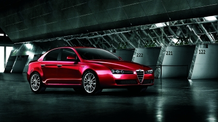 2009 Alfa Romeo 159 - Red, Alfa Romeo, Car, Luxury, 159