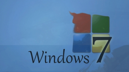 Windows 7 Soft Blue - windows 7 wallpapers, windows wallpapers, windows 7, wallpapers blue