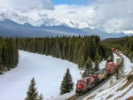 CP Rail in the Canadian Rockies