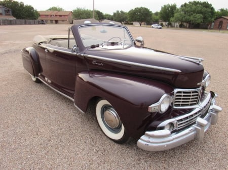 1947 Lincoln Convertible Coupe - Coupe, Convertible, Lincoln, Old-Timer, Car, Luxury
