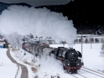 Steam train_Winter