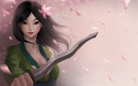 Mulan Fantasy Abstract Background Wallpapers On Desktop Nexus