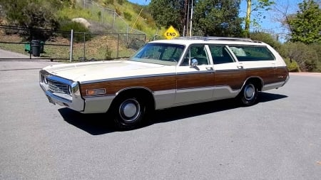 1970 Chrysler Town & Country Station Wagon - Country, Town, Station Wagon, Chrysler, Old-Timer