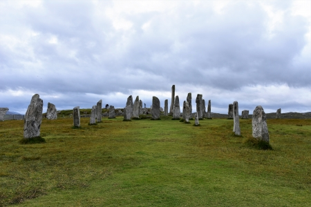 Callanish Standing Stones - Isle of Lewis - Outer Hebrides - Scotland - Scottish Highlands, Scottish Islands, Lewis and Harris, Callanish Standing Stones, Isle of Lewis, Scotland, Western Isles, Outer Hebrides, Scottish Highlands and Islands