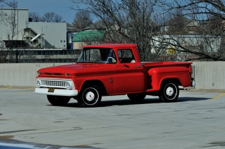 1963 chevrolet c10 pick up - building, truck, pick up, chevrolet