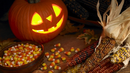 Trick~Or~Treat - Halloween, treat, corn, trick, JOL, candy corn
