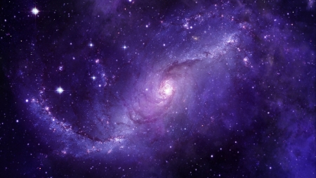 :-) - space, luminos, purple, cosmos, lumina obscura, pink, blue