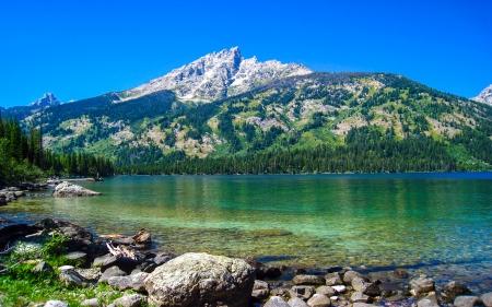 Spectacular Mountain Lake in HD - Mountains u0026 Nature