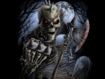 Heavy Metal Skeleton Warrior