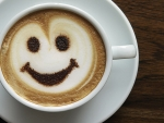 Good Morning Smiley Coffee Cup