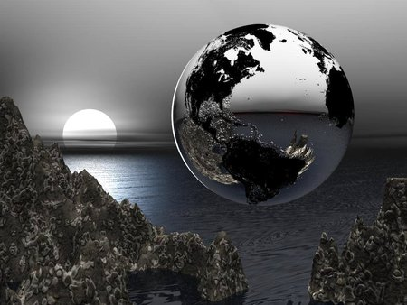 Black Earth Planets Space Background Wallpapers On Desktop Nexus Image 242058