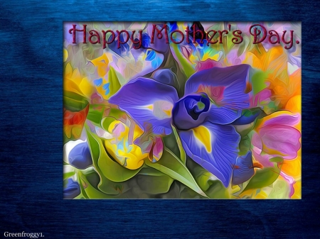 HAPPY MOTHERS DAY - DAY, COMMENT, MOTHERS, CARD