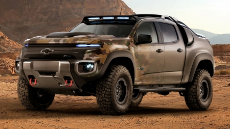 2016 Chevrolet Colorado ZH2 Fuel Cell Vehicle - Colorado, Cell, Car, Chevrolet, ZH2, Vehicle, Off-Road, Fuel