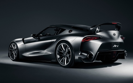 Toyota FT-1 Concept - cars, concept, Toyota FT-1 Concept, vehicles, grey cars