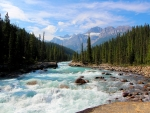 River in Banff National Park in Canada