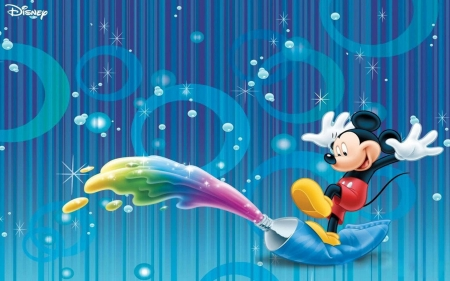 Mickey Mouse Tube Of Paint - Mickey, Tube, Mouse, Paint, Rain