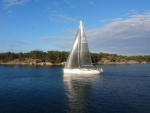 Sailboat in Sandhamn, Sweden