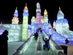 Ice Slide In China