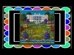 White House Easter Egg Roll by artist Eric Dowdle