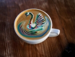 Swan Color Latte